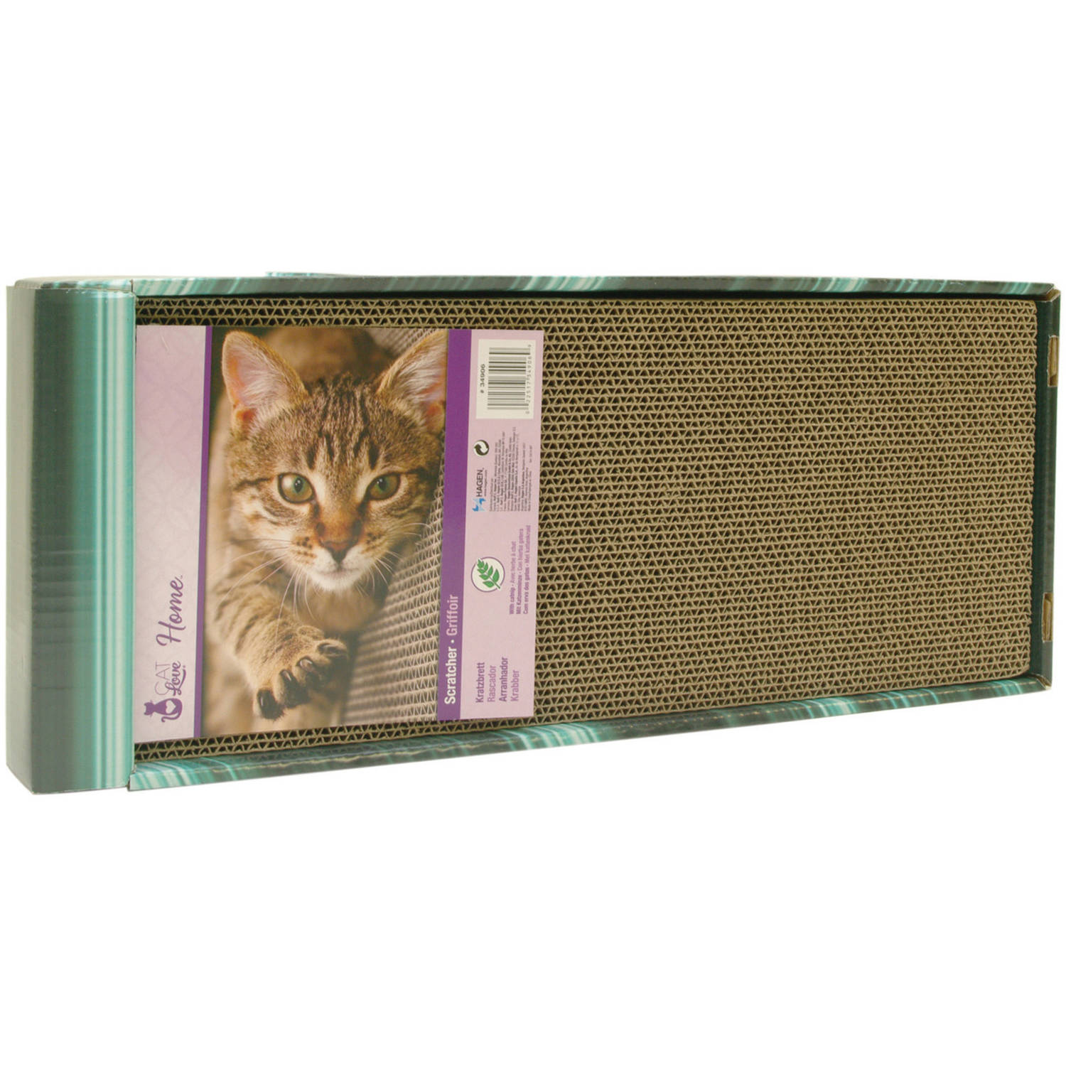 Cat Love Scratcher with Catnip, Incline by Cat Love