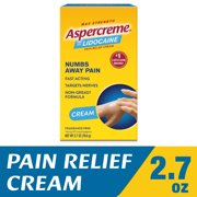 Aspercreme Pain Relieving Creme With Lidocaine (2.7 Oz)