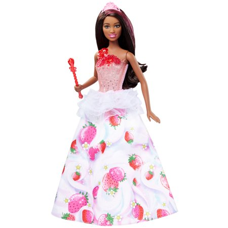 Barbie Dreamtopia Sweetville Brunette Princess Doll with Lights & Sounds - Barbie Princess Rosella