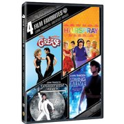 4 Film Favorites: John Travolta: Greatest Moves Grease   Hairspray   Saturday Night Fever   Staying Alive (Widescreen) by WARNER HOME VIDEO