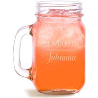 Traditional Personalized Mason Jar, Holds, 15 oz