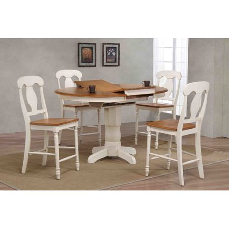 Iconic Furniture Napoleon Counter Height 5 Piece Pub Table Set