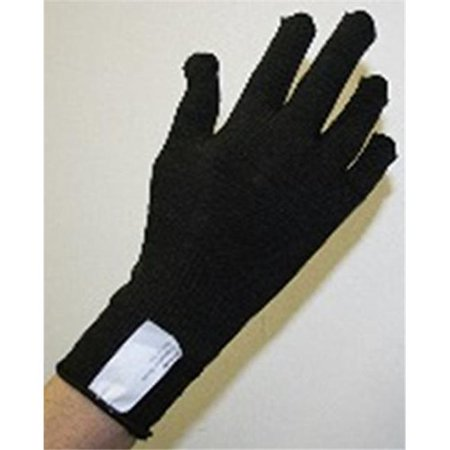 Indogem 736266U Copper Yarn Compression Glove  44  Black   Universal