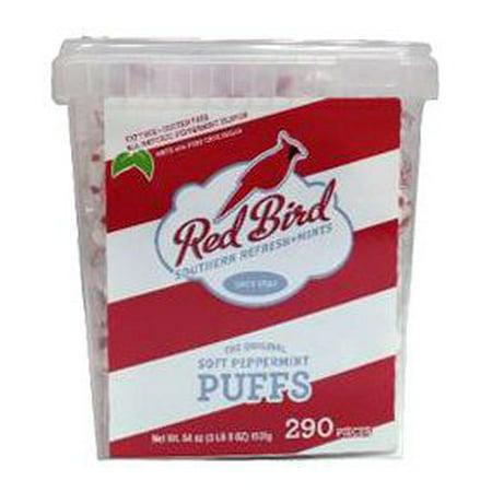 Red Bird Peppermint Candy (Product of Piedmont Red Bird Peppermint Puffs, 290 ct. [Biz Discount])