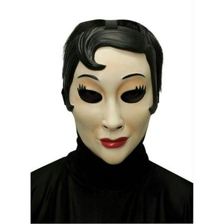 Emo Girl Plastic Mask (Eko Halloween)