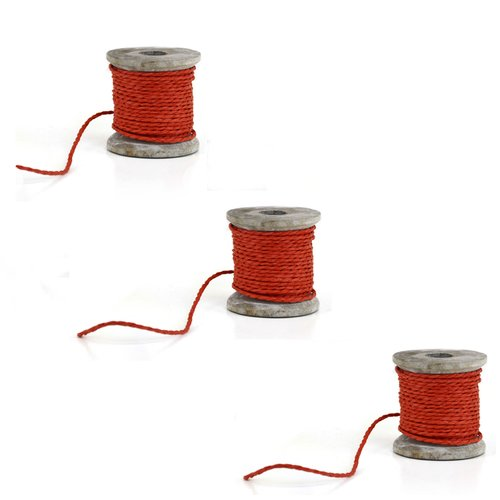 Shea's Wildflowers Paper Rope Ribbon Spool Set (Set of 3)