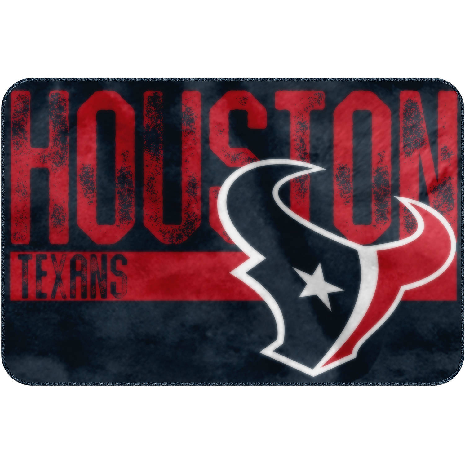 "NFL Houston Texans ""Worn Out"" Mat, 20"" x 30"""