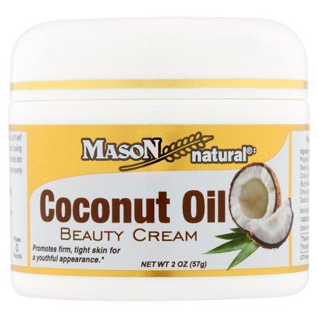 Rub 2 Ounce Cream - Mason Natural Coconut Oil Beauty Cream, 2 oz