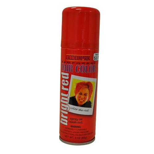 Goodmark Temporary Hair Color Spray Orange Walmart Com