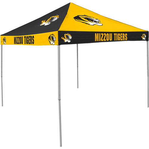 Logo Chair NCAA Missouri 9' x 9' Checkerboard Tent by Generic