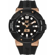 Men's CAT Caterpillar Shockmaster Black Diver's Watch SE19121119