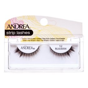 Andrea Mod Lashes Style 26 Black (3-Pack) with Free Nail File ...