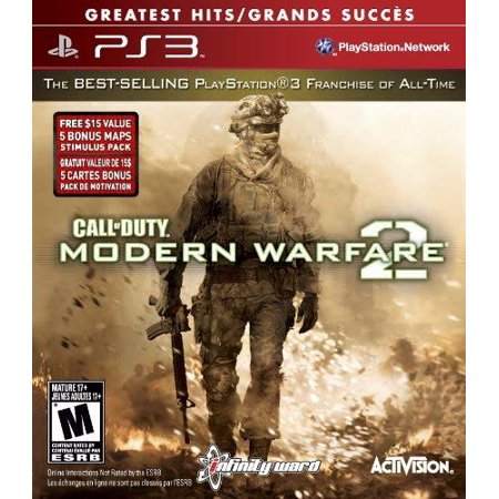 Call of Duty Modern Warfare 2 (PS3) - Pre-Owned (Call Of Duty Modern Warfare 2 Pc Controller)