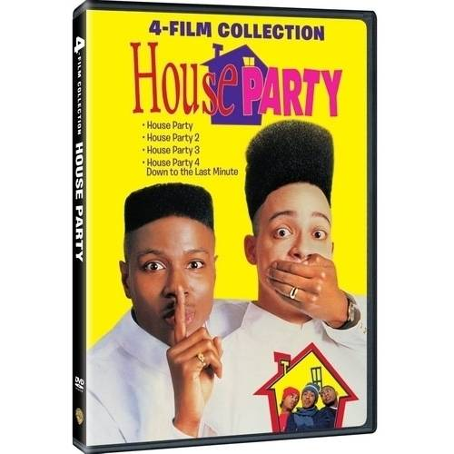 4 Film Favorites: House Party Collection (DVD + Digital Copy With UltraViolet) (Walmart Exclusive) by