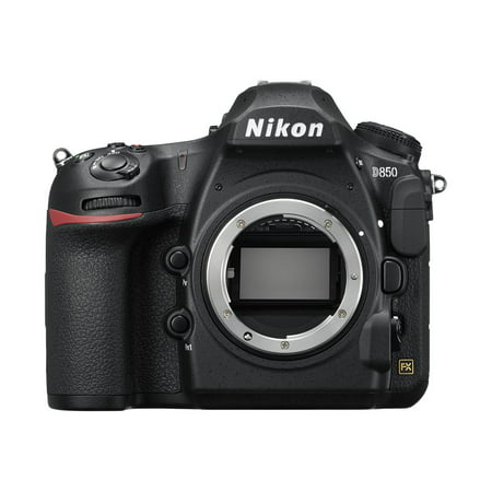 Nikon D850 - Digital camera - SLR - 45.7 MP - Full Frame - 4K / 30 fps - body only - Wi-Fi, Bluetooth - black