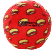 VIP Products Mighty Ball Dog Toy, Large, Red