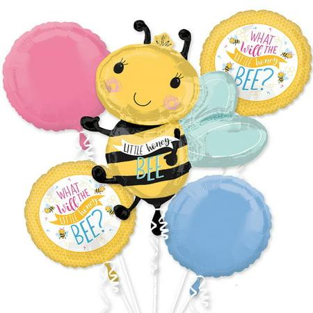 Little Honey Bee Foil Balloon Bouquet