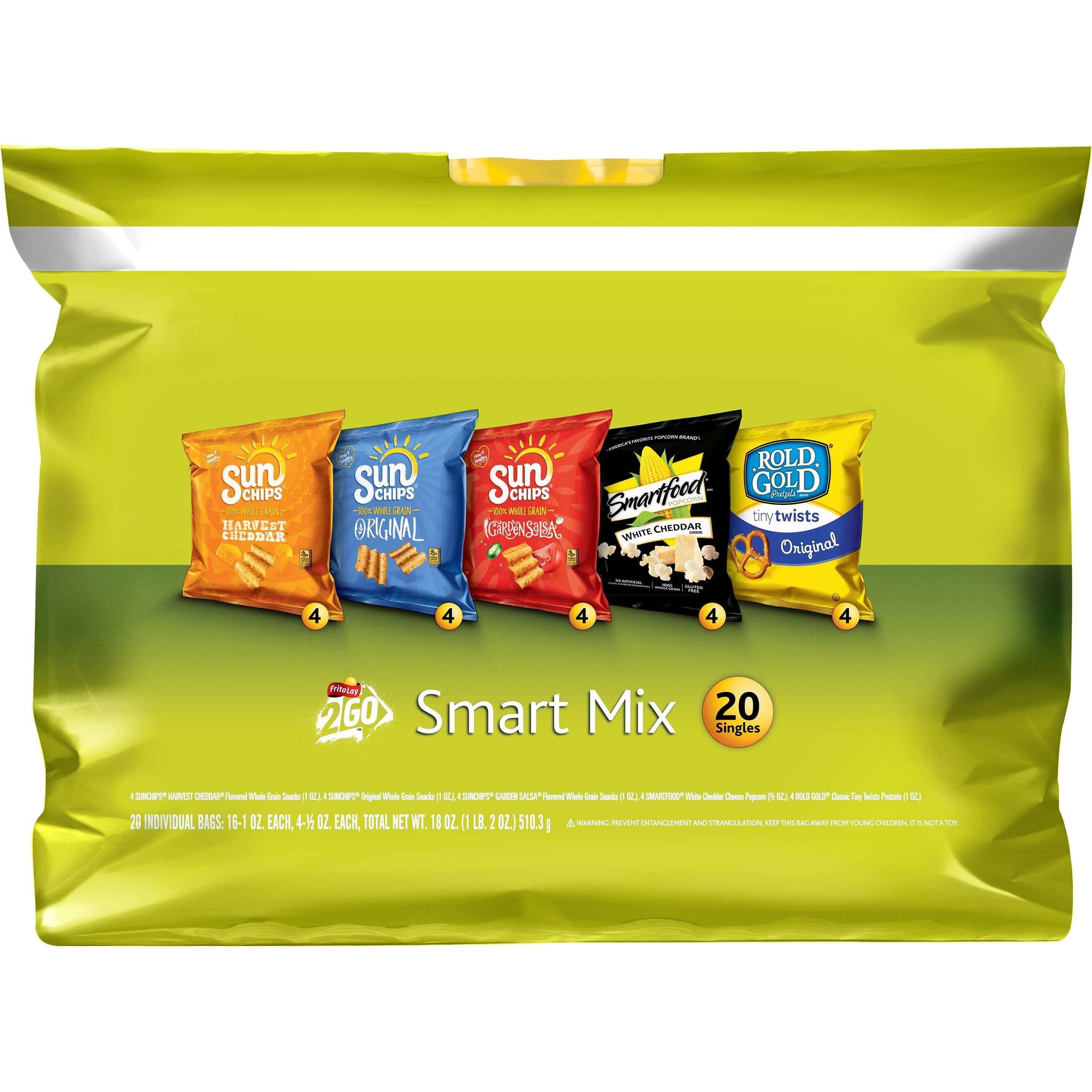 Frito-Lay Smart Mix, Variety Pack, 20 Ct