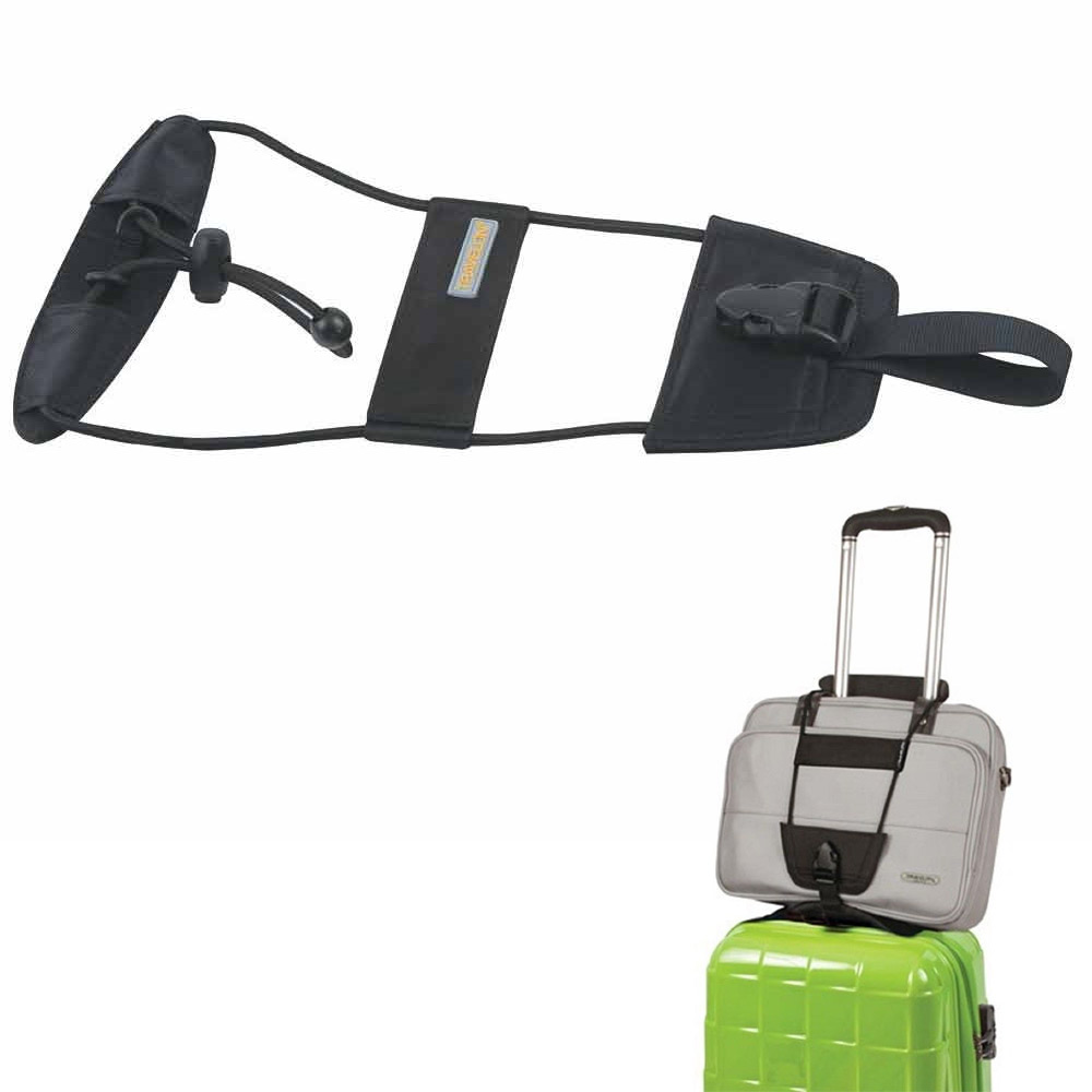 Travelon Bag Bungee Luggage Add A Bag Strap Travel Suitcase Attachment System Walmart Com
