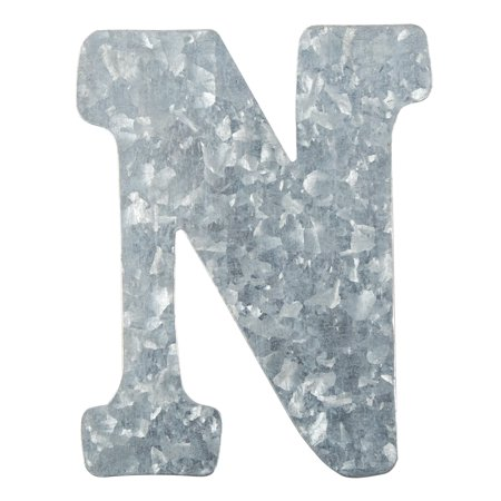 - On the Surface Tin Letter N, 1 Each
