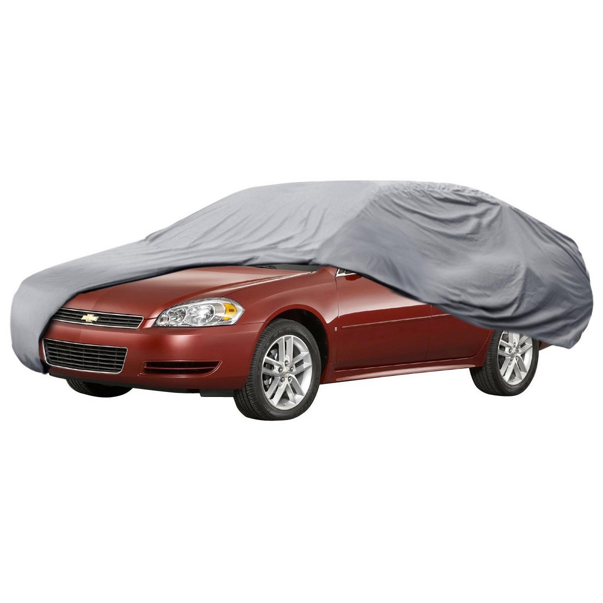 Car Cover for Chevrolet Impala 99-14 Outdoor Waterproof UV Block 4 Layers, USA, Brand BDK