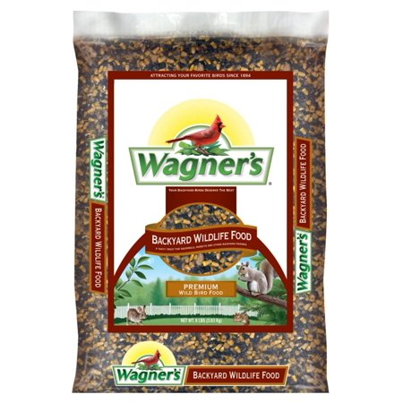 Playful Squirrels - Wagner's 62046 Backyard Wildlife Food, 8-Pound BagKeeps playful squirrels and small animals satiated diverting them from your bird feeders By Wagners