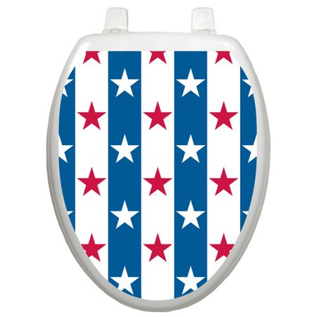 Stupendous Toilet Tattoos Seasonal Stars And Stripes Toilet Seat Decal Gamerscity Chair Design For Home Gamerscityorg