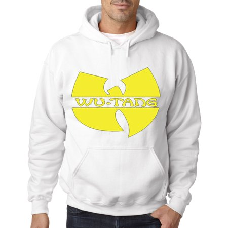 New Way 175 - Hoodie Wu-Tang Clan Logo Hip Hop Rap Group Sweatshirt - 80 Hip Hop Clothes