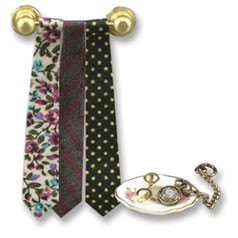 Dollhouse Men'S Tie Set W/Rack