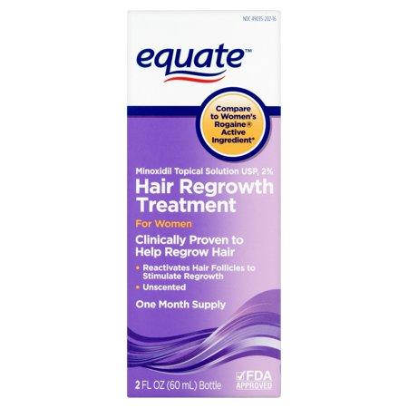 equate Solution cheveux Repousse topique pour les femmes, 2 oz