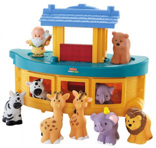 Fisher Price Little People Noah's Ark(Discontinued by manufacturer) by FISHER PRICE