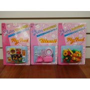 Gloria Utensil and Play Food Accessories for Barbie Dolls