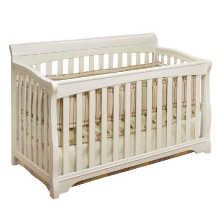Sorelle Florence 4-in-1 Convertible Crib White