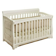 Sorelle Florence 4-in-1 Convertible Crib White