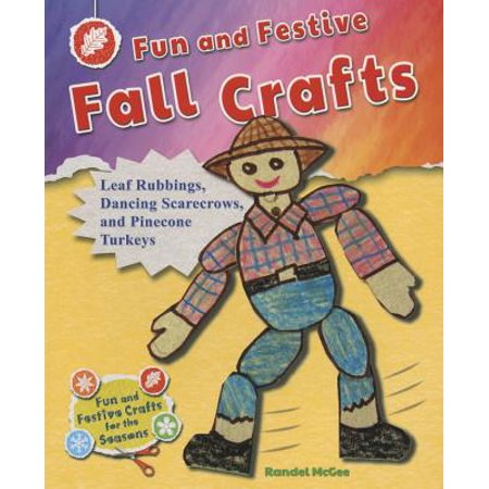 Fun and Festive Fall Crafts : Leaf Rubbings, Dancing Scarecrows, and Pinecone - Leaf Rubbings