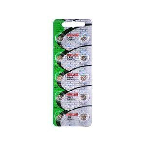 """60 x Maxell LR41 AG3 192 button cell battery """"NEW HOLOGRAM PACKAGE """""""