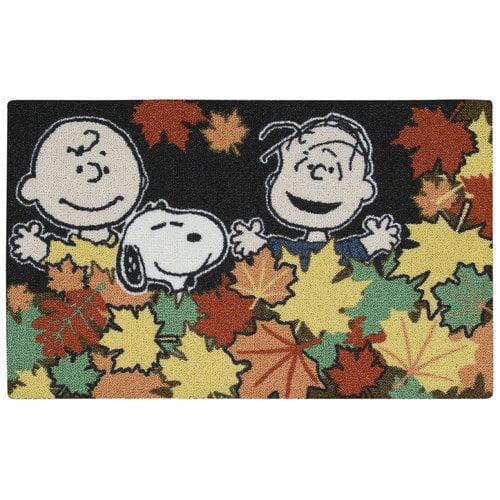 Nourison Peanuts ''Leaves'' Doormat