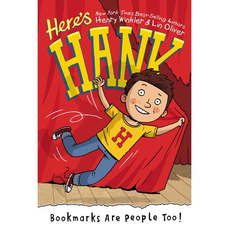 Here's Hank: Bookmarks Are People Too! (Paperback)