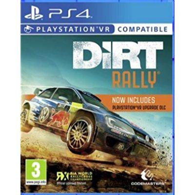 dirt rally vr compatible (ps4) uk import region free