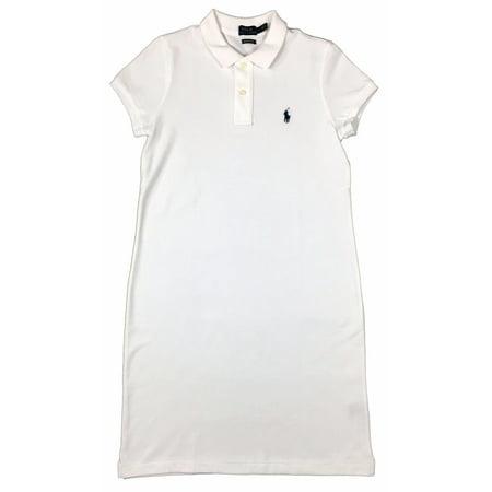 Ralph Lauren Polo Womens Pony Logo Mesh Mini Dress Navy/White/Pink/Blue New - Pony Dresses