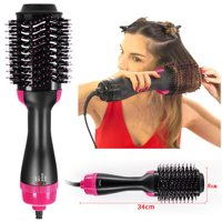 Pro Collection Salon 2 In 1 One Step Hair Dryer and Volumizer Oval Brush Design for Women