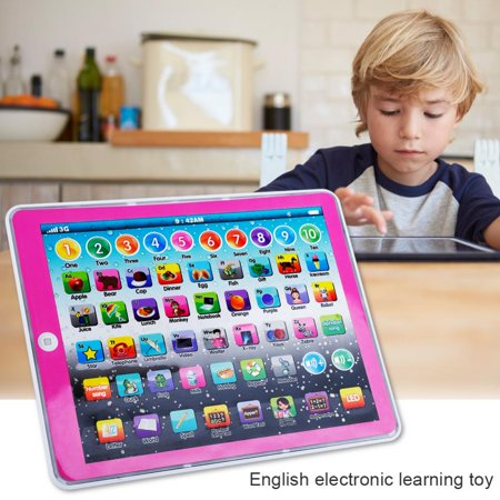 English Learning Pad Toy, Kids English Pad Toy,Fosa Kids Children Tablet Pad Electronic Preschool English Learning Numbers Letters Teach Toy
