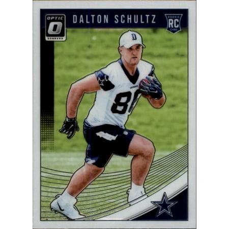 2018 Donruss Optic #137 Dalton Schultz Dallas Cowboys Rookie Football (Great Wall Of Dallas A Football Life)