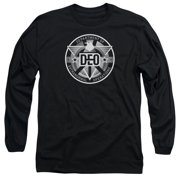 Supergirl Deo Mens Long Sleeve Shirt