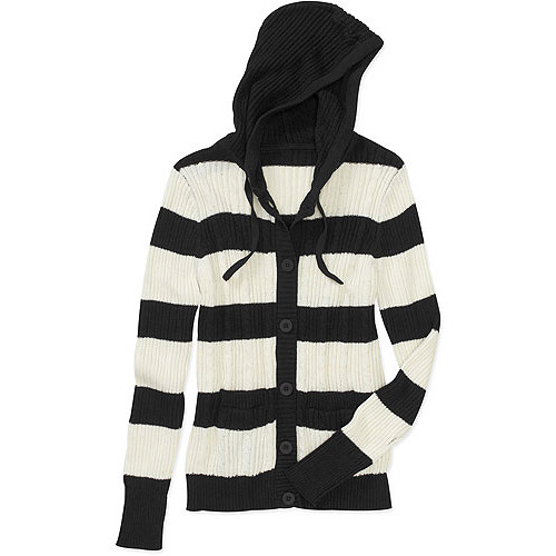 Faded Glory Women's Cable Knit Cardigan