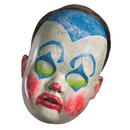 Baby Clown Costume Mask - Baby Bane Mask