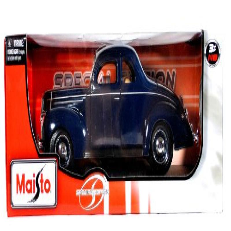 Maisto Year 2011 Special Edition Series 1:18 Scale Die Cast Car Set Navy Blue Classic 1939 Ford Deluxe with... by