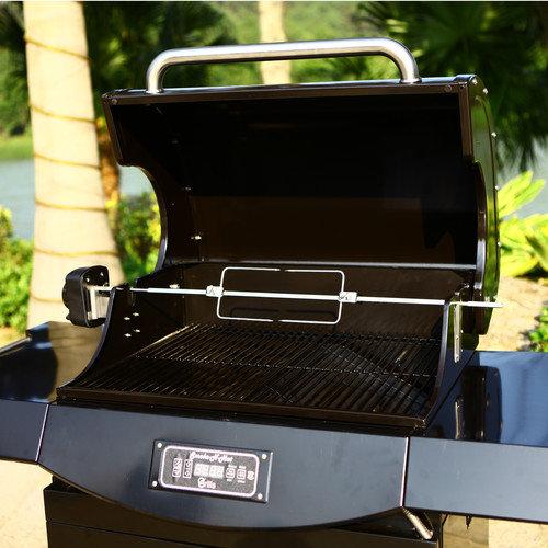Smoke-N-Hot Grills 32'' Smoke N Hot Pellet Grill Pro Rotisserie Kit
