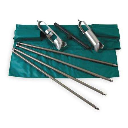 AMS 209.31 Soil Auger Kit,Dia 3 1/4 In,Depth 16Feet G1441185
