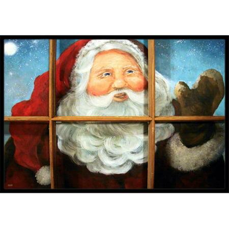 Carolines Treasures PJC1079JMAT Kindly Visitor Santa Claus Christmas Indoor & Outdoor Mat, 24 x 36 in. - image 1 of 1
